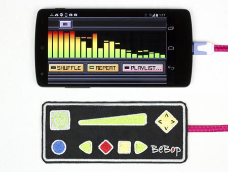 BeBop Wearable Sensor & Controller with Smartphone 2