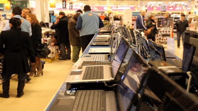 Ventes d'ordinateurs - 3e trimestre 2014