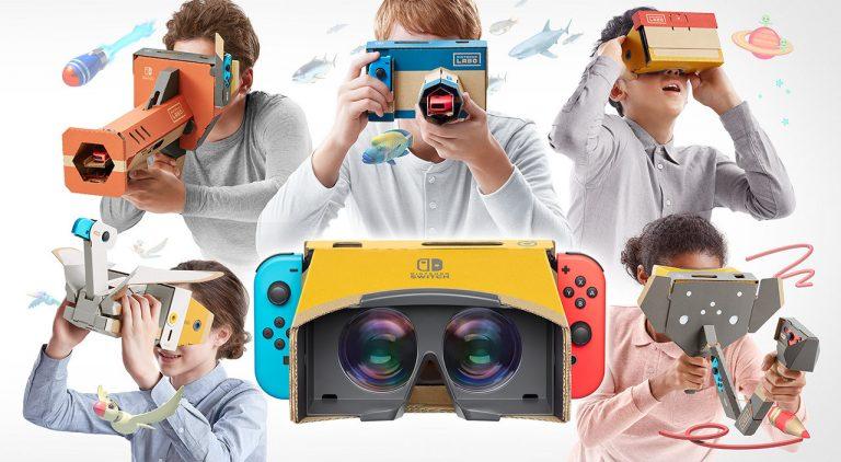 Toy-Con 4: Nintendo passe à la réalité virtuelle