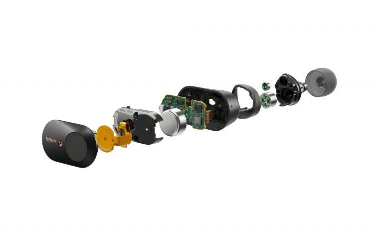 Nouveaux écouteurs à réduction de bruit active chez Sony