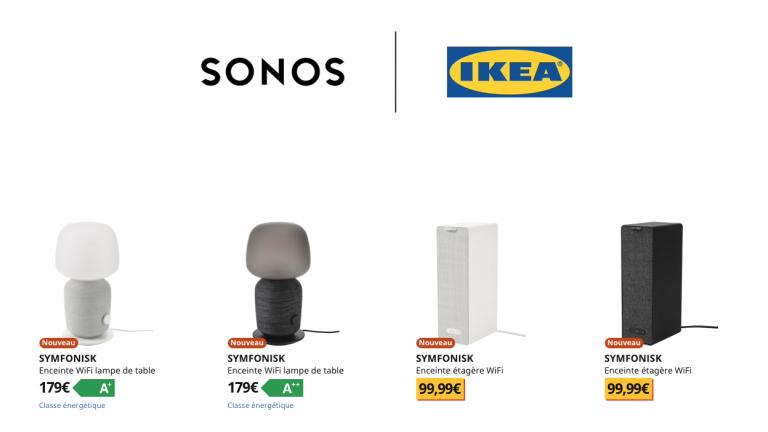 Sonos et Ikea jouent une Symfonisk en la majeur
