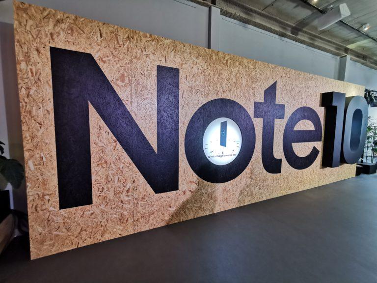 Samsung vise la Note 10