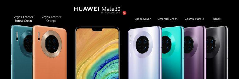 Le Huawei Mate 30 est là! Enfin, à peu près…
