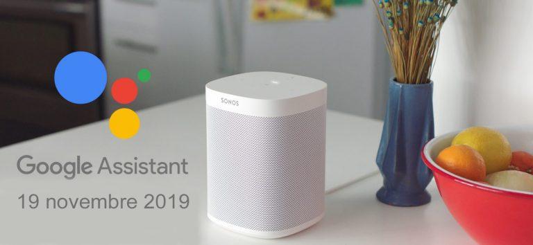 L'Assistant Google sur Sonos: mode d'emploi