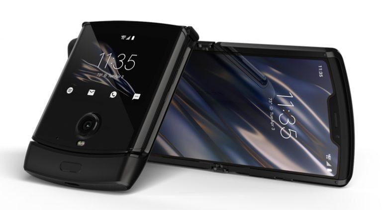 Motorola réinvente le Razr et lui offre un écran pliable
