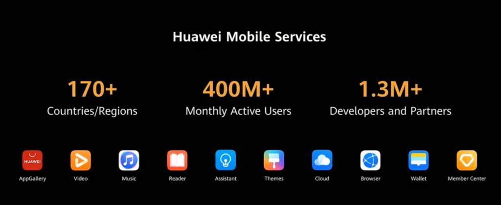 Huawei Mobile Services 400 millions d'utilisateurs